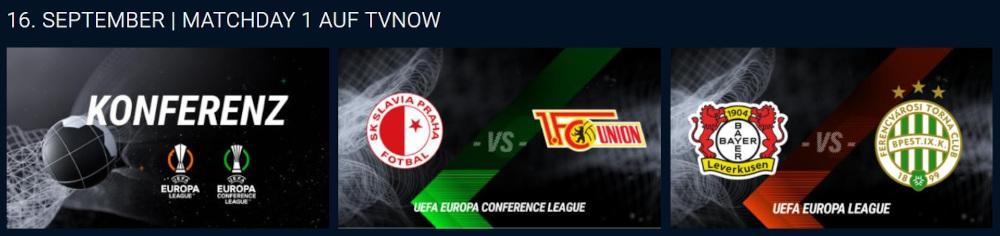 UEFA Europa Conference League im Live-Stream