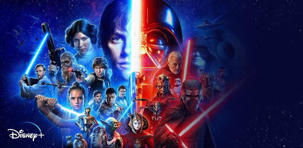 Disney Plus Originals Star Wars