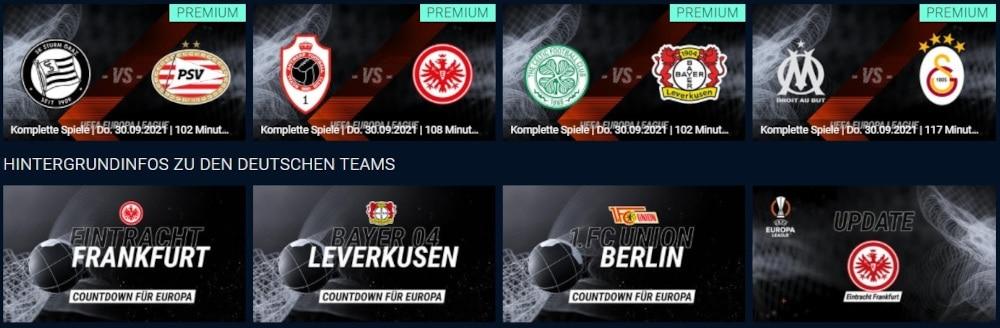 RTL Plus Europa League