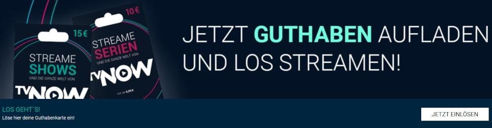 RTL+ Gutschein einlösen