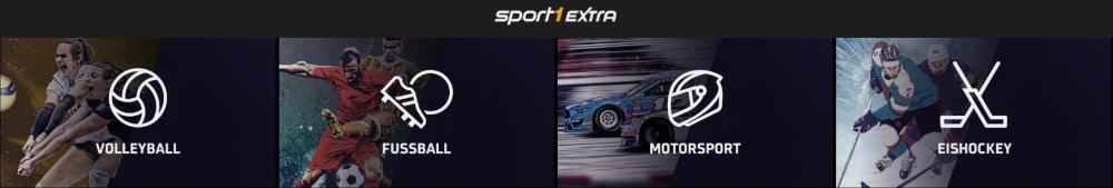 Sport1 Extra Sportarten